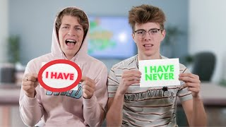 NEVER HAVE I EVER ft. Ben Azelart vs Jeremy Hutchins