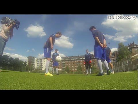 Der USC Paloma vor dem DFB-Pokalspiel gegen die TSG 1899 Hoffenheim | ELBKICK.TV