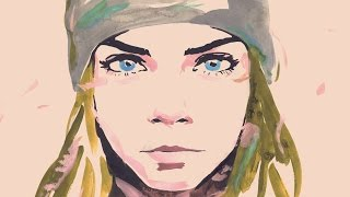CHANEL's GABRIELLE bag animated film with Cara Delevingne (Director's cut)