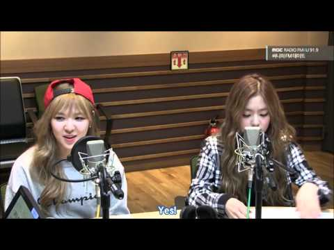 [ENG SUB] 151001 Sunny's FM Date with Red Velvet