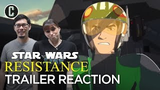 Star Wars: Resistance Trailer Reaction & Review