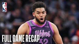 ROCKETS vs TIMBERWOLVES | KAT & Teague Lead MIN | February 13, 2019