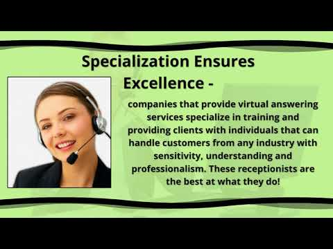 Benefits of a Virtual Answering Service