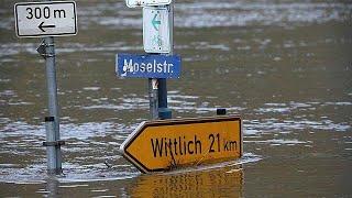 Snow and wet weather wreak havoc across Europe