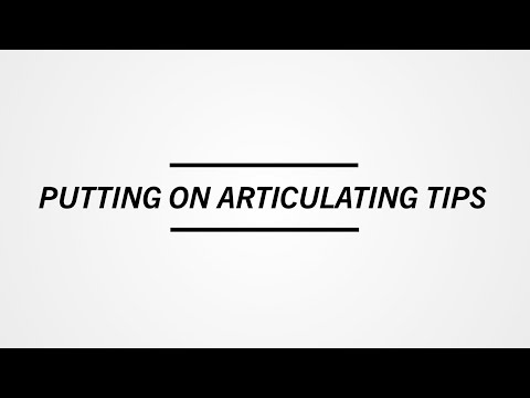 SideStix: Putting on Articulating Tips and Hiking Tips