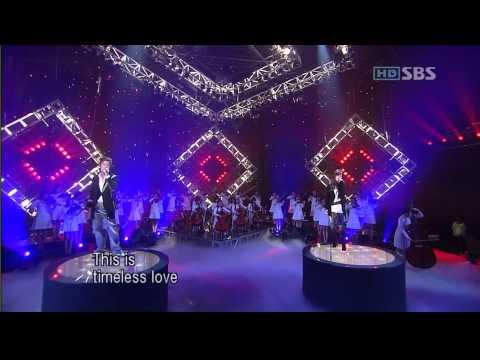 060910 Junsu & Zhang Li Yin [Timeless]