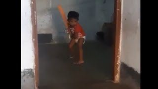 This kid has better technique than most club cricketers..