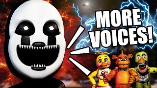 "FREDDY FAZBEAR IS GETTING A VOICE! || ""ULTIMATE"" CUSTOM NIGHT FOR FNAF 6 NEW INFO"