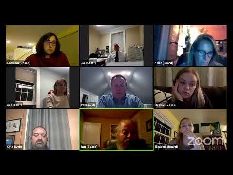 Plattsburgh Zoning Board of Appeals Meeting  9-21-20