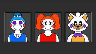 Minecraft Fnaf: Ultimate Custom Night Girls Night (minecraft roleplay)