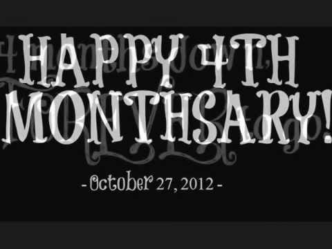 Happy 4th Monthsary Baby Baby Happy 4th Monthsary