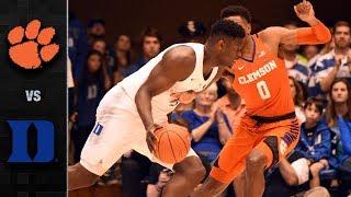 Clemson vs. Duke Basketball Highlights (2018-19)