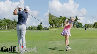 Brooks Koepka Battles a 10-Year-Old Girl in a 5-Round Golf Challenge | Golf Digest