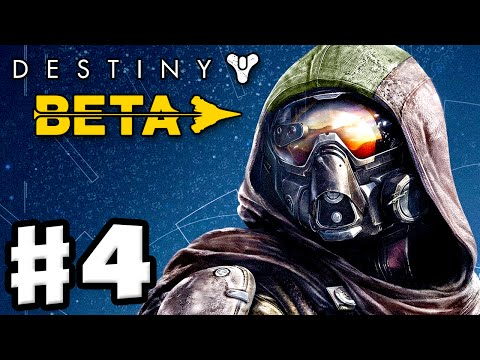 Destiny Beta - Gameplay Walkthrough Part 4 - The Last Array (PS4) - ZackScottGames  - MN8G_yX8Uos -