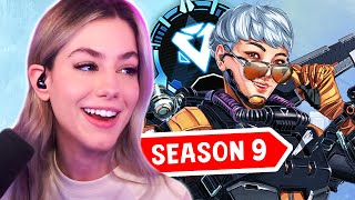 DIAMOND ON THE FIRST DAY OF SEASON 9! | Apex Legends