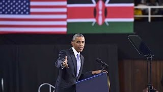 Obama in Kenya: President Barack Obama's speech at Kasarani - full