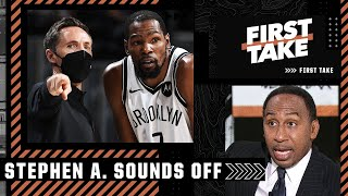 Stephen A. sounds off on KD, Kyrie and Steve Nash   First Take