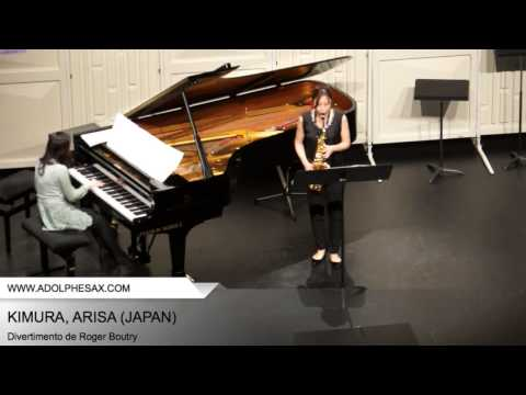 Dinant 2014 - Kimura, Arisa - Divertimento by Roger Boutry
