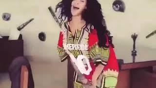 "Rihanna Dancing ""Vybz Kartel - Rambo Kanambo "" & whining in Barbados ."