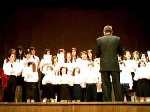 VILLANCICOS POPULARES Concierto navidad  Coro de voces