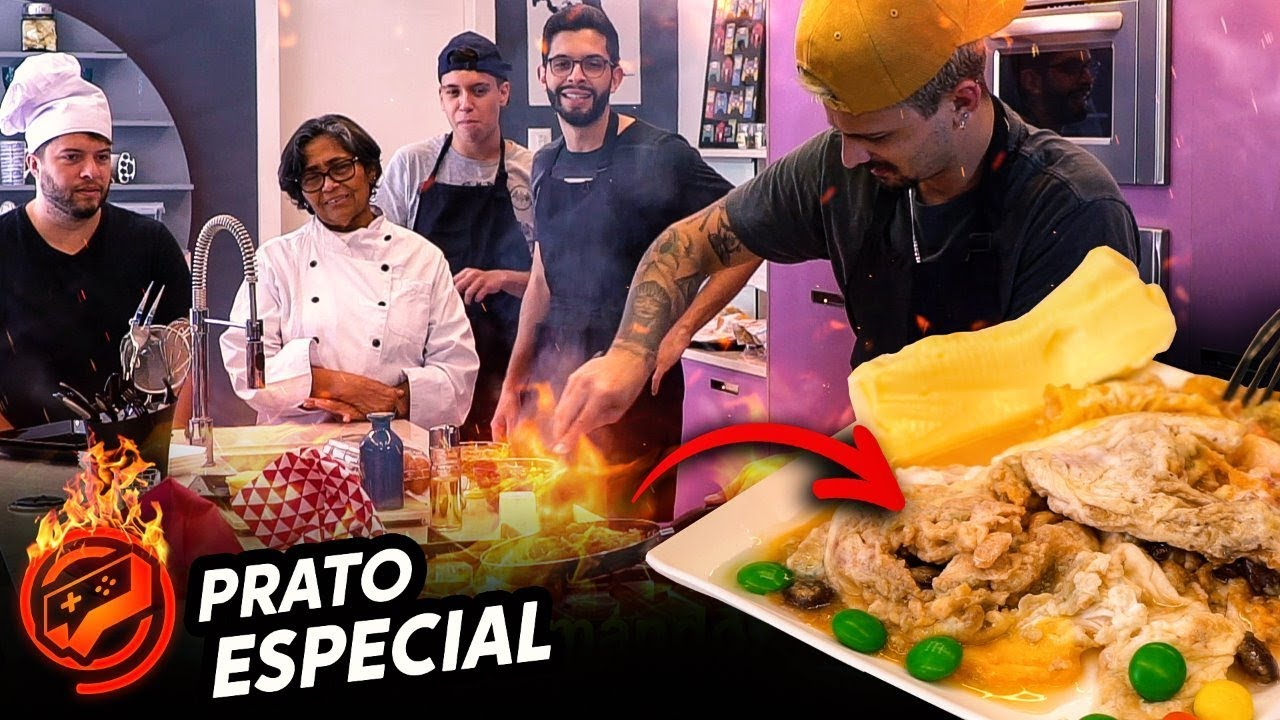 MASTERCHEF FINAL LEVEL - OS PIORES PRATOS DO MUNDO???