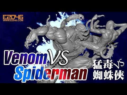 Venom VS Spiderman Parts Fit Test