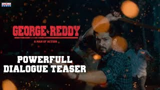 George Reddy Powerful Dialogue Teaser- Sandeep Madhav..
