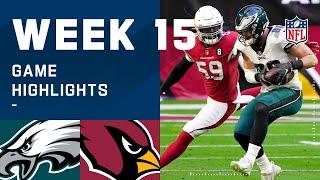Eagles vs. Cardinals Week 15 Highlights | NFL 2020