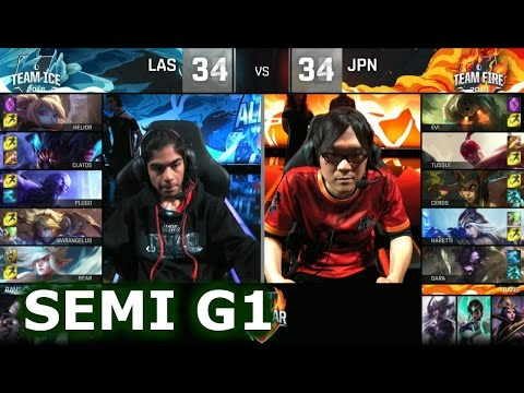 a96f586f1165 Japan vs LAS Game 1 All-Stars Barcelona 2016. International Wildcard All-Stars  2016 lol. League of Legends IWC AllStar VOD. 2016 IWC All-Star full  playlist  ...