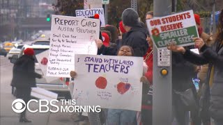 Most L.A. parents support teachers on strike, but some worry for students
