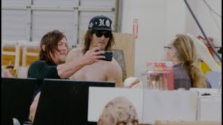 Watch Norman Reedus Come Face To Face With His 'Walking Dead' Double
