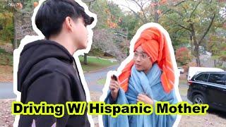 DRIVING WITH HISPANIC MOM (SKIT)