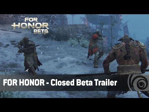 For Honor - Trailer Closed Beta [IT]