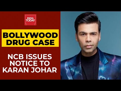 NCB issues notice to Bollywood producer Karan Johar over alleged drug party