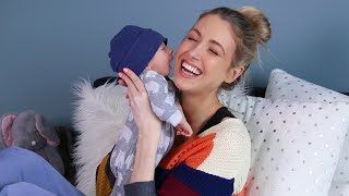 INTRODUCING BABY / Q&A... Postpartum, Nursing & Life with a Newborn!