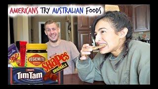 Americans Try Australian Foods