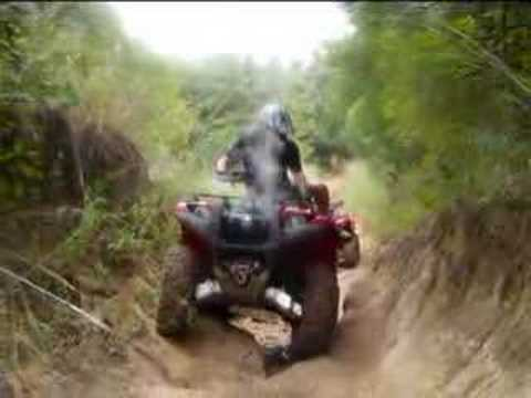 2007 Yamaha Grizzly Maxxis Bighorn Test.