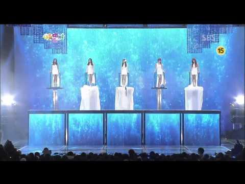 [HD]121229 SBS Gayo Daejun - Mystic White - Mermaid Princess - Jiyoung, Bora, Lizzy, Sunhwa, Gayoon