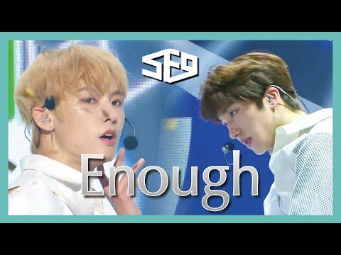 [HOT] SF9 -  INTRO + Enough  , 에스에프나인 - INTRO + 예뻐지지 마 show Music core 20190302