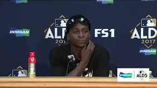 Didi Gregorius Postgame Interview | Yankees vs Indians Game 5 ALDS