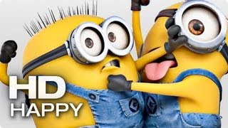 HAPPY - Pharrell Williams (feat. Minions) - YouTube