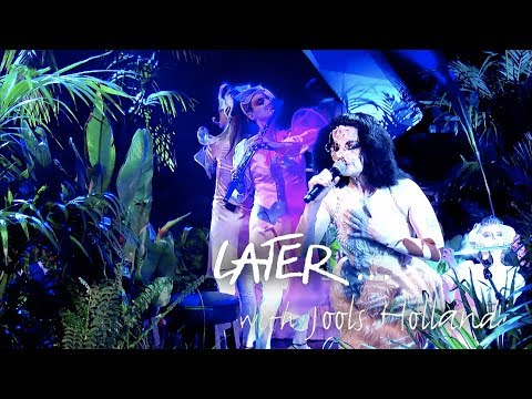Björk performs The Gate live on Later… with Jools Holland