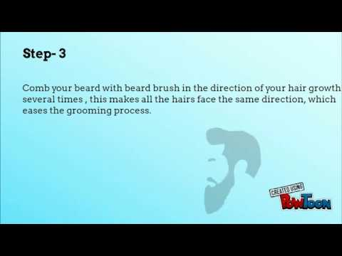 Beard Maintenance- The Art of Grooming