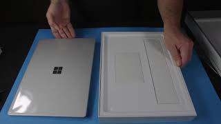 Unboxing Microsoft Surface 2 Laptop for ASMR & Relaxation