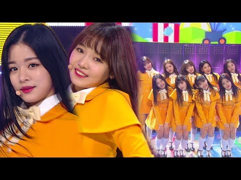 《ADORABLE》 fromis 9(프로미스나인) - To Heart @인기가요 Inkigayo 20180218