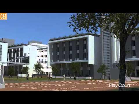 IIM proposed campus - 3D walk through