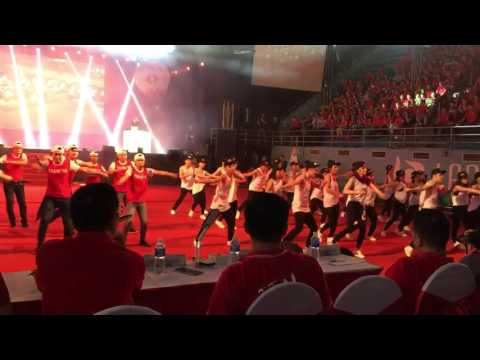 Dance crew team 116 Techcombank sn 23 nam