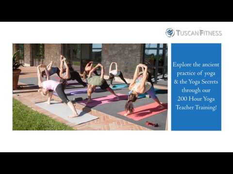 Yoga Teacher Training Course 2017 - Tuscan Fitness