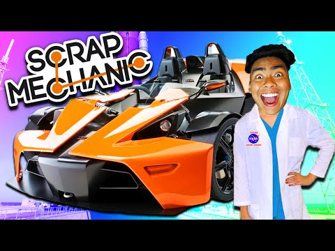 FASTEST CAR IN THE WORLD!   Scrap Mechanic #2