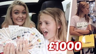 Little Sister Controls My Life With £1000 for 24 Hours...